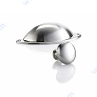 Винтидж дръжки за мебели - сребро/инокс