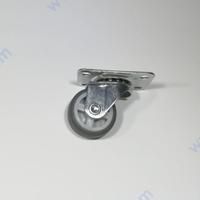Мебелно въртящо колелце с гума