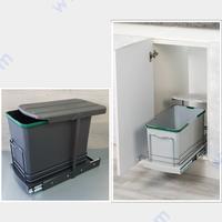 Кухненски кофи за вграждане 16 л - за вратичка 400 /350 мм.
