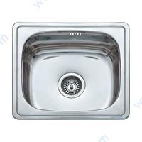 Кухненска мивка 480 х 430 х 175 мм, инокс