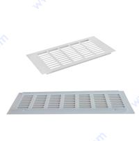 Вентилационна алуминиева решетка - бяла