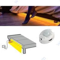 Мини сензор за движение със таймер за спалня.