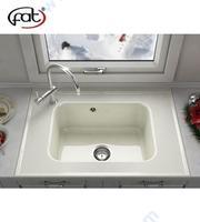 Бордова кухненска мивка от полимермрамор или граниксит