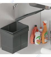 Кухненска кофа за вграждане 15 л. - графитена