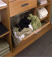 Кош за дрехи за вграждане в шкаф
