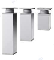 Квадратен регулируем крак, алуминиев