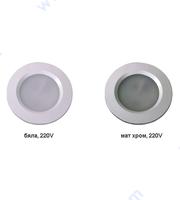 LED луна за вграждане Ф60 мм, 220V