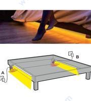 Лед осветление за спалня със сензор, таймер и димер