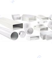 Пластмасови въздуховоди и елементи за тях.