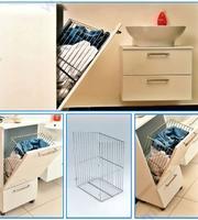 Кош за пране, за вграждане в шкаф